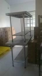 Fabrico mesa inox