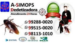 Asimops Dedetizadora autorizada pela Dvisa Vigilância Sanitária 99288 0020