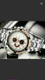 Lindo relógio importado de luxo masculino