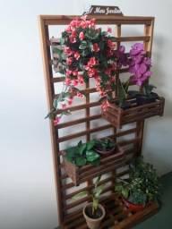Jardim/Horta Vertical sem furar sua parede