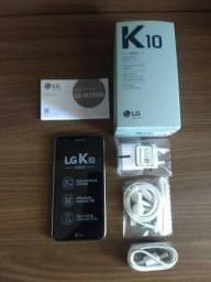 Vendo ou troco LG K10 2018 32Gb dois meses de uso