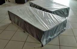 Cama box solteiro, por apenas R$ 199,99