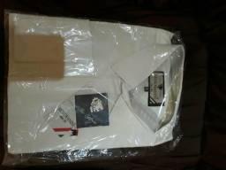 Camisas punho duplo fio egípcio