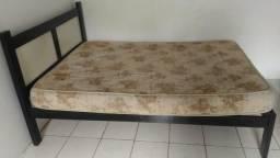 Barbada cama casal + colchão casal r$120,00