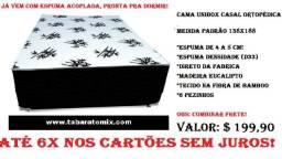 Cama Unibox ::: Á partir de 169$, com espuma acoplada Direto da Fabrica! 6x sem juros