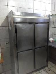 Geladeira refrigerador 4 portas inox