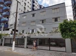 Apartamento com 1 dormitório para alugar, 50 m² por R$ 1.100/mês - Canto do Forte - Praia