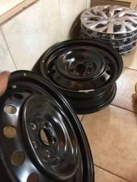 Roda de ferro Toyota Corolla aro 16 + Carlota