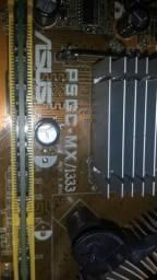 Vendo placa mãe 775 ddr2 Asus