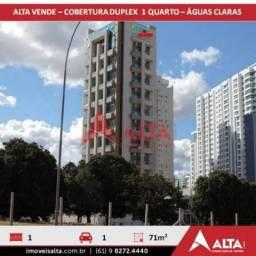 Apartamento à venda com 1 dormitórios em Águas claras, Águas claras cod:201