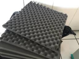 Espuma de Isolamento Acústico (Novas) - 50X50X2cm - 36 unidades