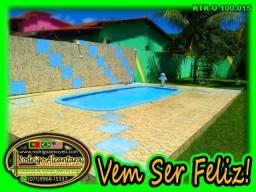 Ótimo Terreno, Piscina, Muro, Monte Gordo, no Asfalto, Próx. Praia de Guarajuba