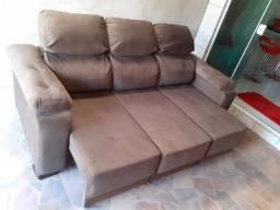 Vendo sofá retrátil e reclinável ENTREGO