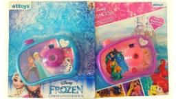 Brinquedos Disney - 2 Câmeras Fotográficas Personagens