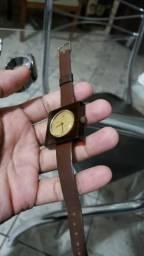 Relógio Lucerne Swiss - Couro Maquina Do Tempo