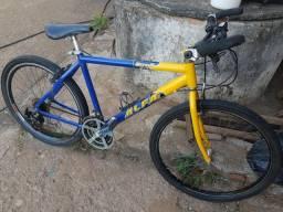 Usado, Bicicleta 21 marchas, quadro Alfameq, câmbio mega range e todos os acessórios Shimano comprar usado  Campinas