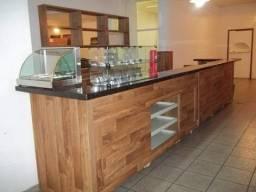 Equipamento e móveis para restaurante