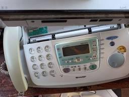 Fax Sharp Reliquia, com Hand copy