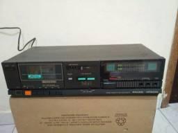 Vendo aparelho vintage tape deck plilco-hitachi pcd-61 raridade