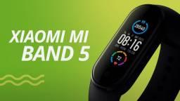 [Em até 10x s/ juros] Smartwatch Xiaomi Mi Band 5 - Nova
