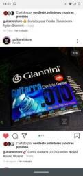 Jogo de Corda Guitarra Giannini 0.10
