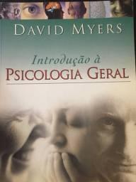 Livro Usado - Introdução A Psicologia Geral (Português) - David Myers