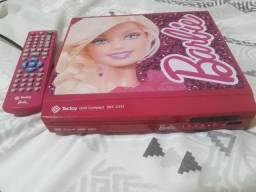 Dvd dá Barbie semi novo