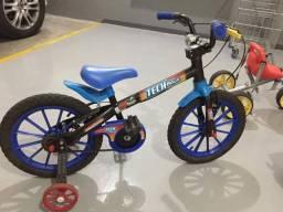 Bicicleta Tech Boys aro 16 - Infantil
