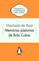 Livro Físico - Memórias Póstumas De Brás Cubas Novo Lacrado