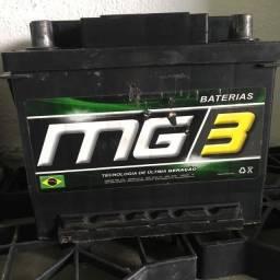 Bateria mg3 45AH seminova (entrega e instalação grátis)