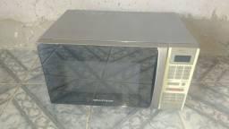 Microondas Brastemp inox 30 litros