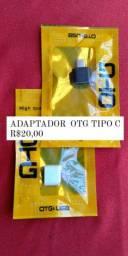 CONECTOR  OTG TIPO C R$20