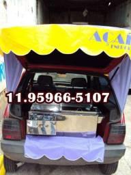 Kit de açaí para veiculo adaptação de açaí no carro