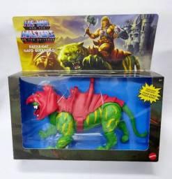 Boneco He-man Master Of The Universe Gato Guerreiro Lacrado