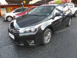 Corolla XEi 2.0 Flex Aut. 2017 Completo, Preto, Automatico, Piloto, Couro, Top. Novo