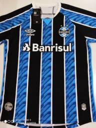 Camisa Grêmio Home Umbro 20/21 - Tamanho: P