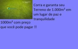 50E-Garanta já seu terreno para chácara com preço acessivel otimo acesse1000m2