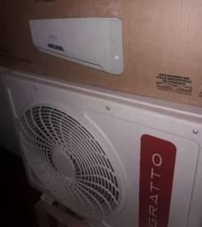 Ar condicionado split 12000 btus Agratto com função eco