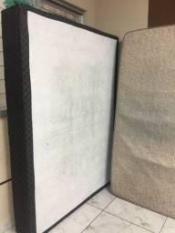 Cama box de casal com colchão