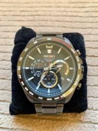 Relógio Seiko Cronograph Quartz Ref.: SSB311B1 P/ Colecionador!