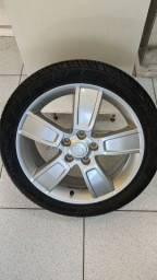 """Jogo de rodas 18"""" grátis pneus"""