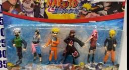 Naruto kit 6 bonecos