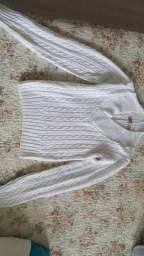 Blusa tricô Tam P de frio