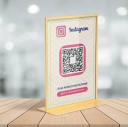 Título do anúncio: Arte Digital QR Code Instagram