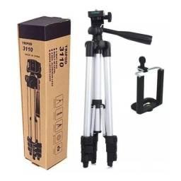 Tripe De Aluminio Universal celular e cameras com suporte 1,02 metro-Loja Rf Informatica-