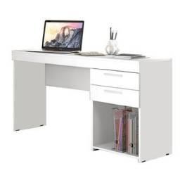 Mesa para computador office 2 gavetas - Frete Gratis - 10x sem juros