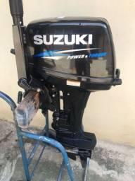 Título do anúncio: MOTOR DE POPA SUZUKI 15HP