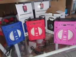 Caixa de som Bluetooth AL-301 5W barato! Leia