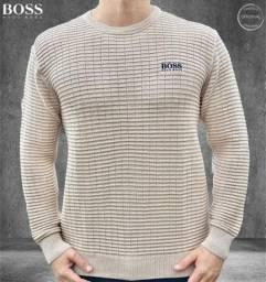 Hugo Boss suéter blusão
