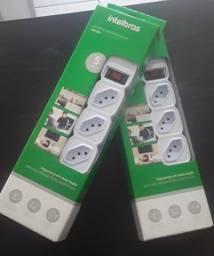 Título do anúncio: Filtro de Linha Protetor Eletrônico 4 Tomadas e 2 Portas USB Intelbras EPE 204 USB